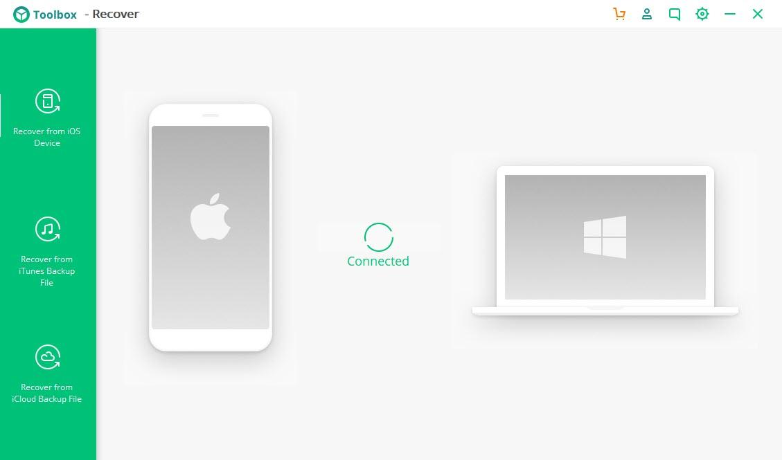 iSkysoft Toolbox подключение устройства