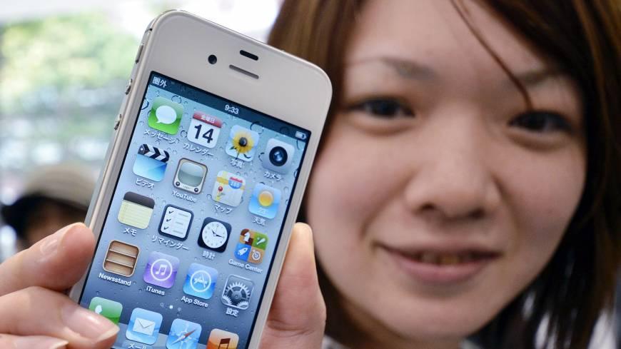 Айфон для Японии