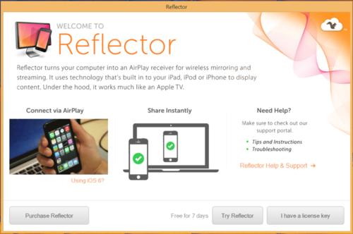 Программа Reflector