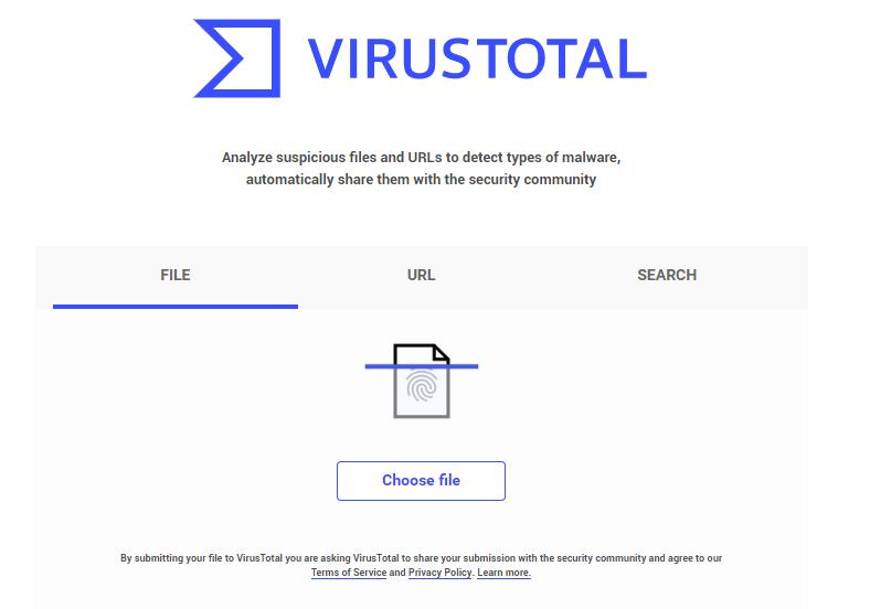 Вирустотал сайт