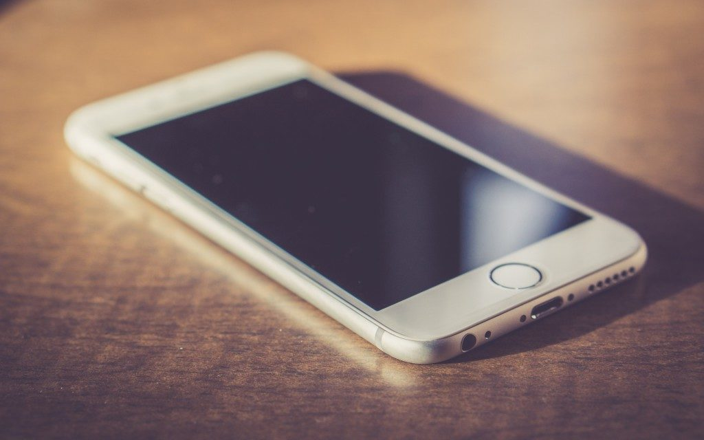 Выключенный айфон