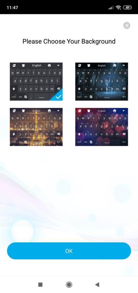 Темы оформления клавиатуры Go Board