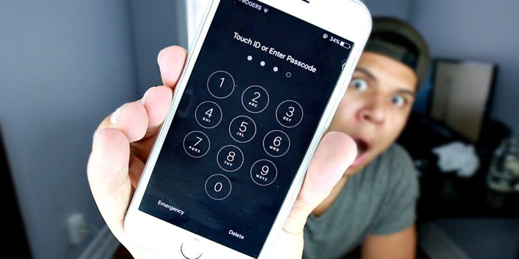 Изменить пароль на Айфоне