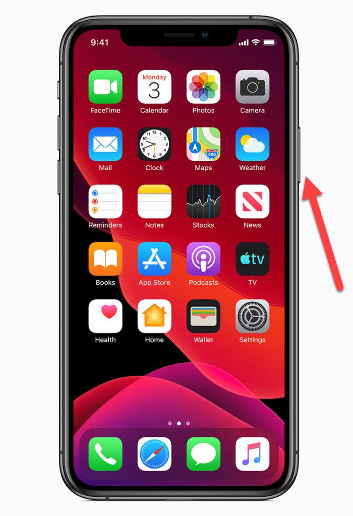 iPhone 11 Кнопка Power