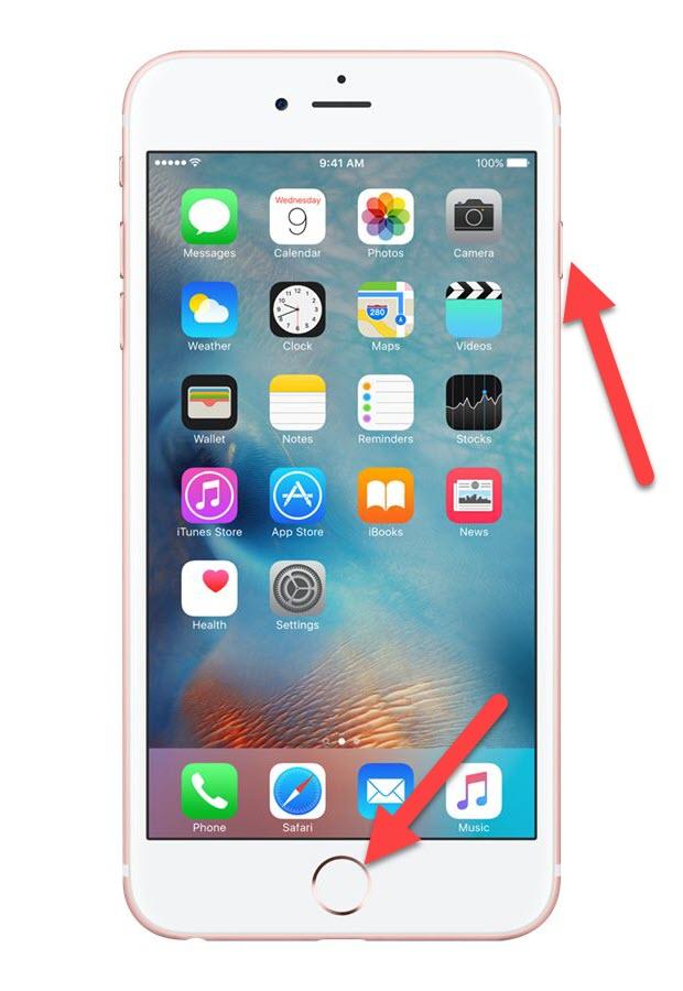 iPhone 6 Home и Power