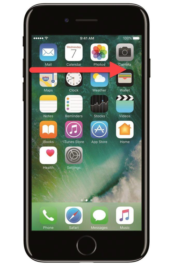 iPhone 7 слепое выключение