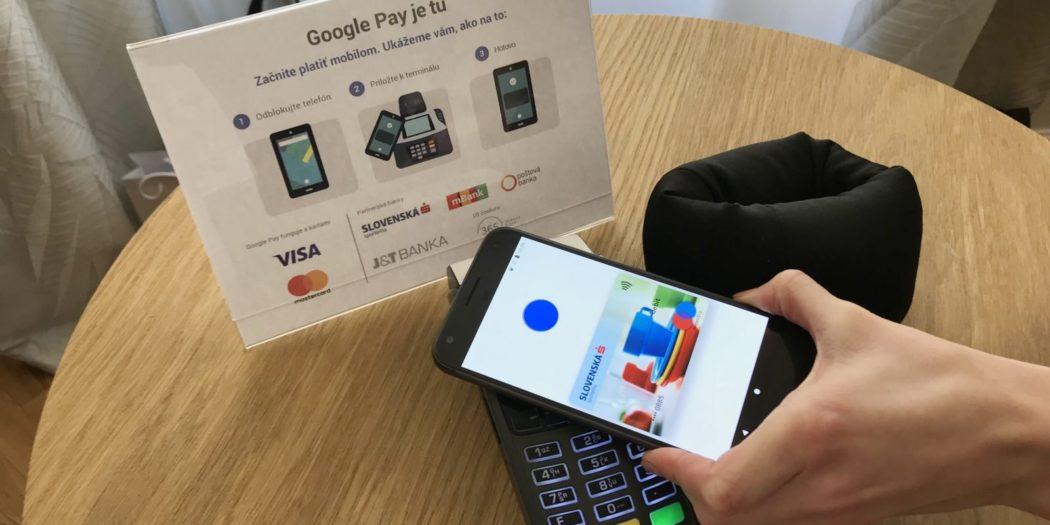 Гугл Пэй на Андроиде