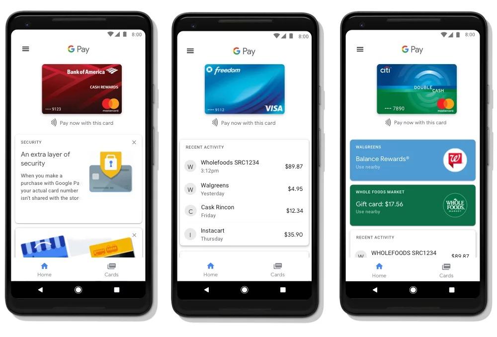 Google Pay Андроид