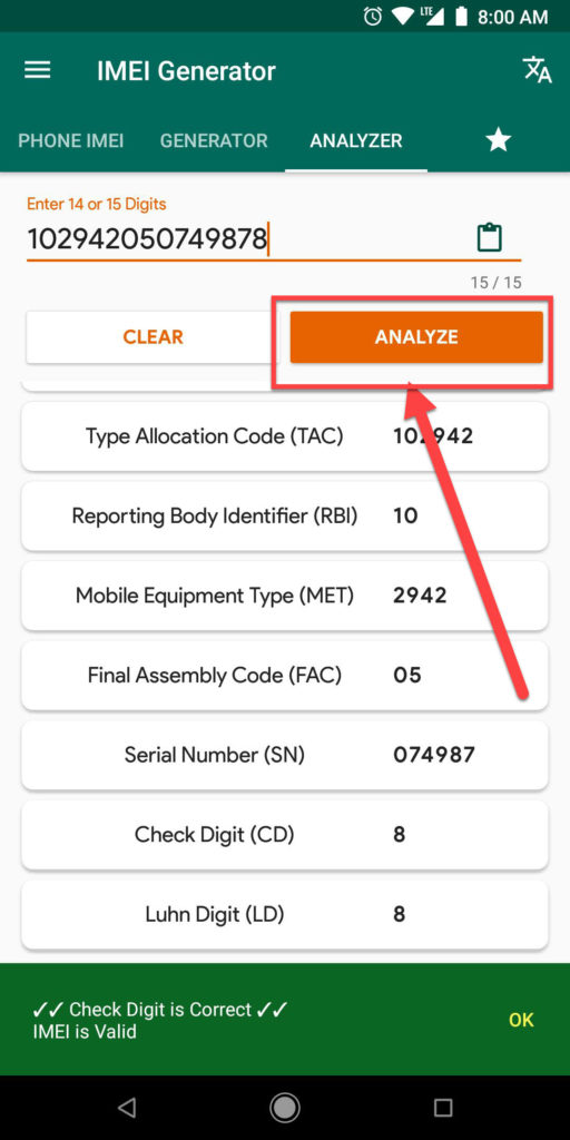 IMEI Generator Android