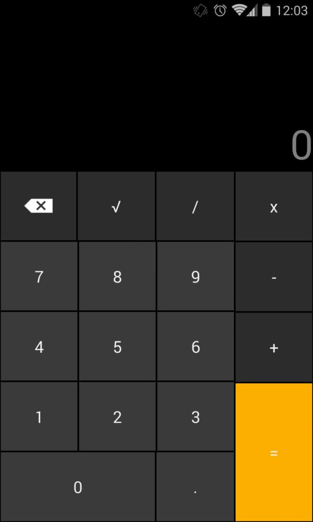 Smart Hide Calculator установка пароля