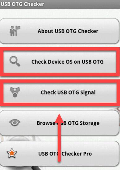 OTG Checker проверка сигнала