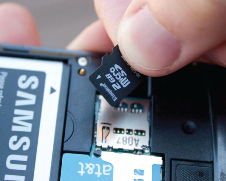 Андроид вытаскиваем SD-карту