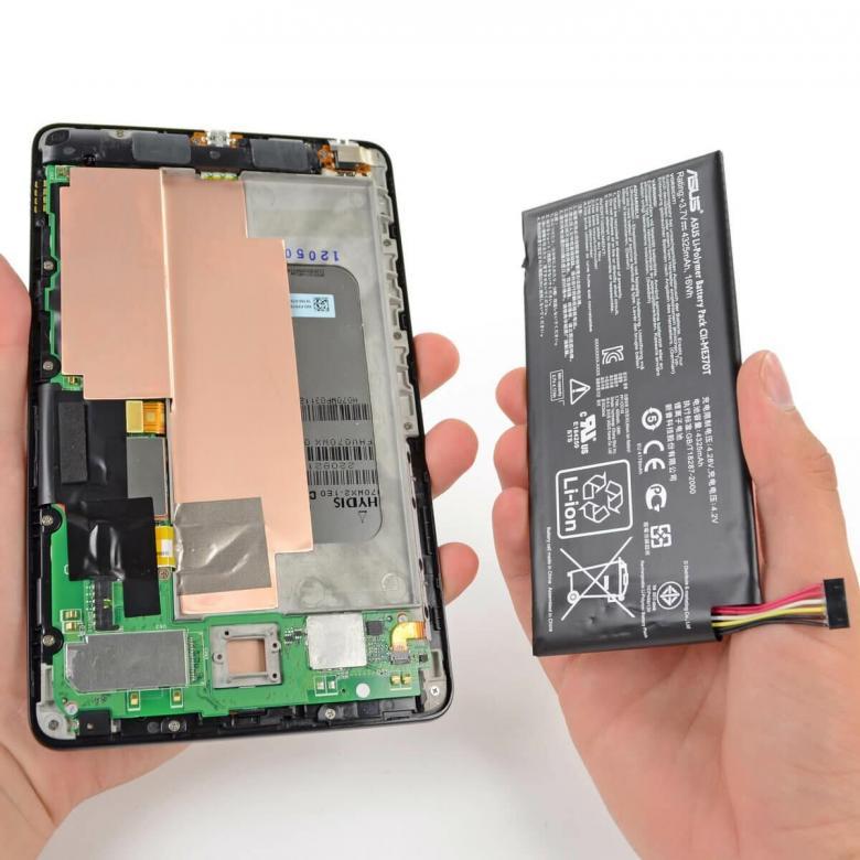 Замена аккумулятора Андроид