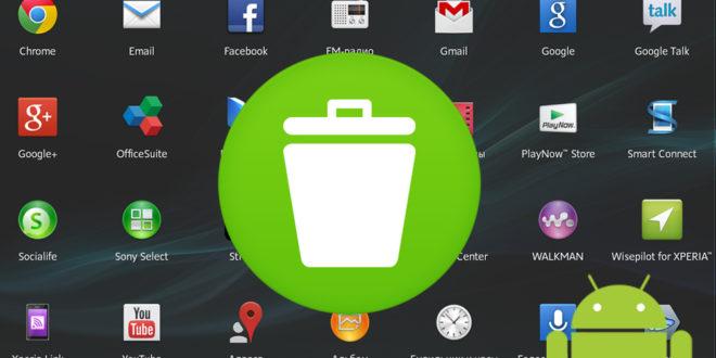 Удалить неудаляемые приложения Андроид