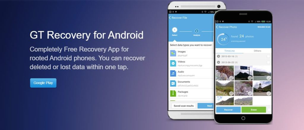 GT Recovery Android
