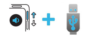 Повышение громкости + USB-подключение