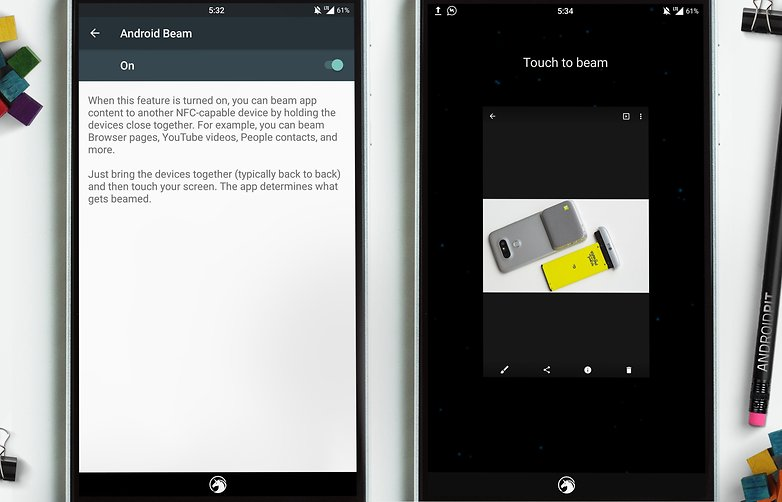 Android Beam передача файлов