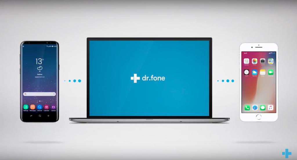 Dr.Fone сопряжение устройств