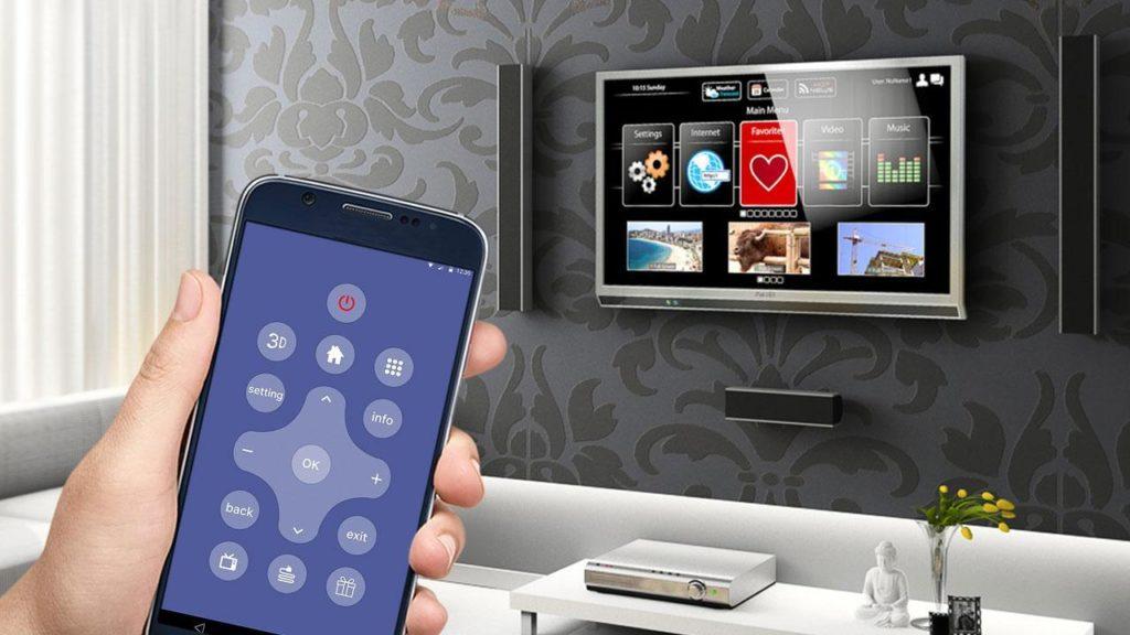 Управление телевизором с телефона