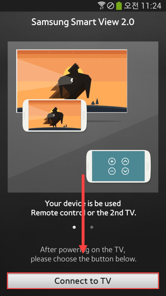 Samsung Smart View Android Connect to TV