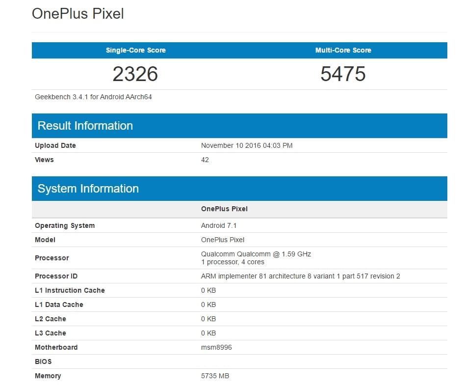 Geekbench 5 Android