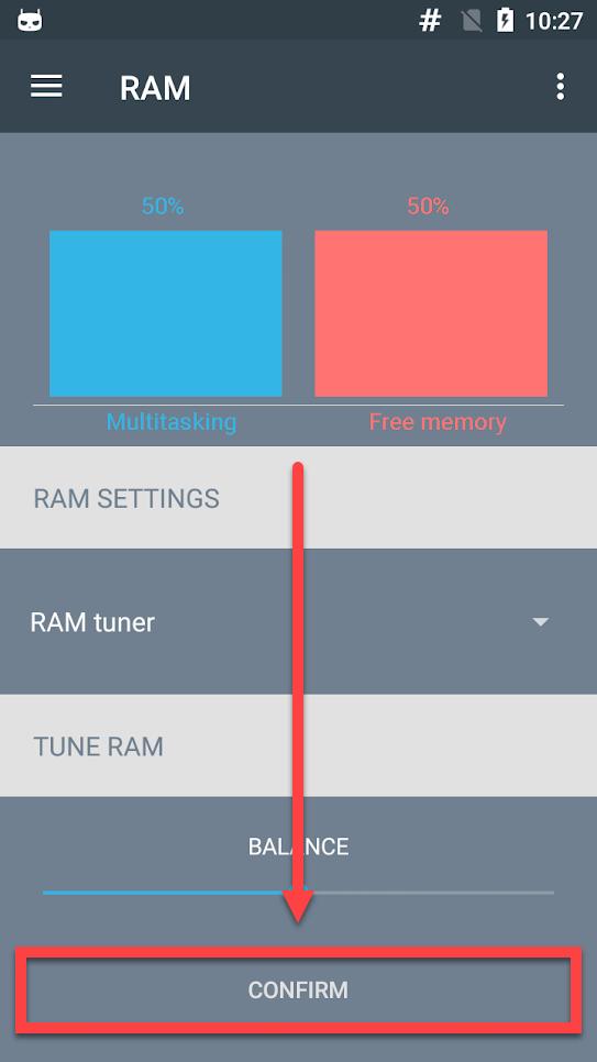 Приложение RAM Manager - директория для файла подкачки сохранение