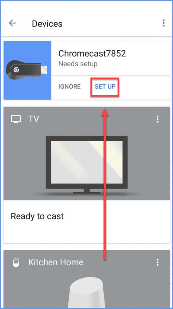 Подключение Андроида к телевизору через Chromecast - приложение Google Home