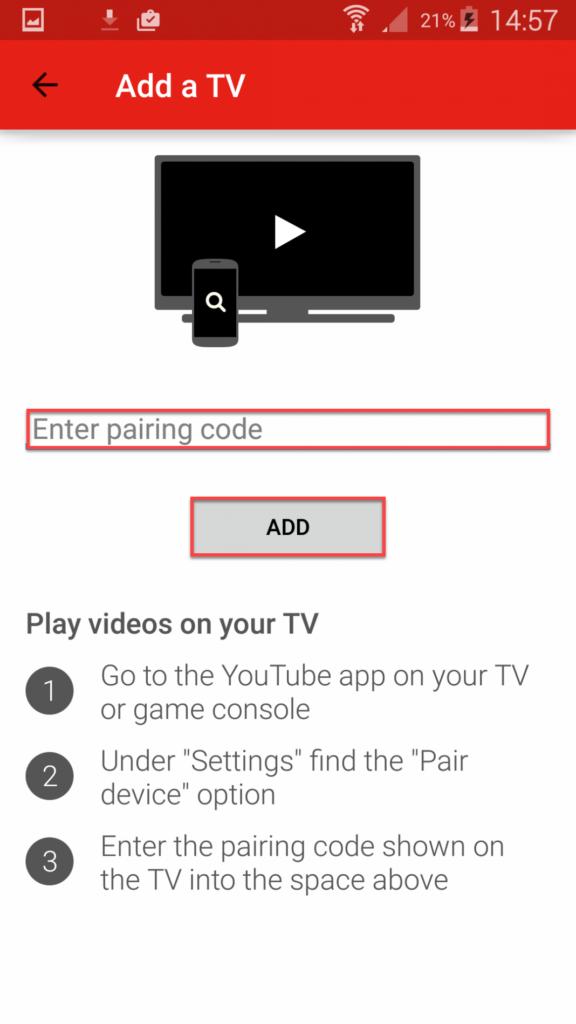 Подключение Андроида к телевизору через YouTube - Просмотр на телевизоре