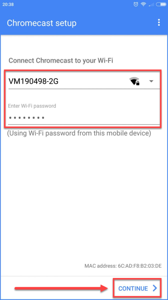 Подключение Андроида к телевизору через Chromecast - приложение Google Home название сети