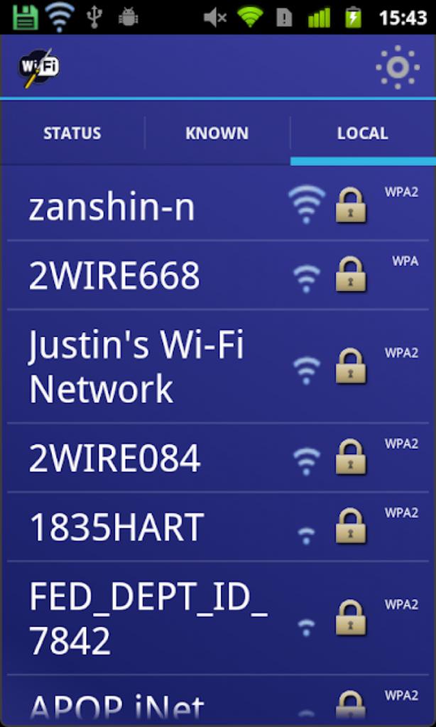 Программа WiFi Fixer Android