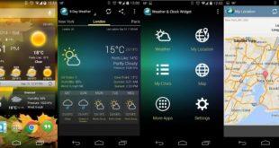 Как установить виджет погоды Андроид
