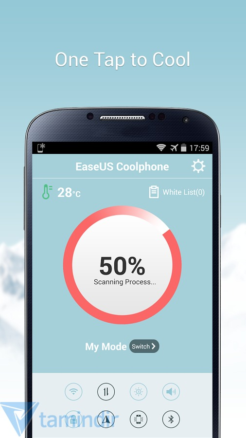 Приложение EaseUS Coolphone