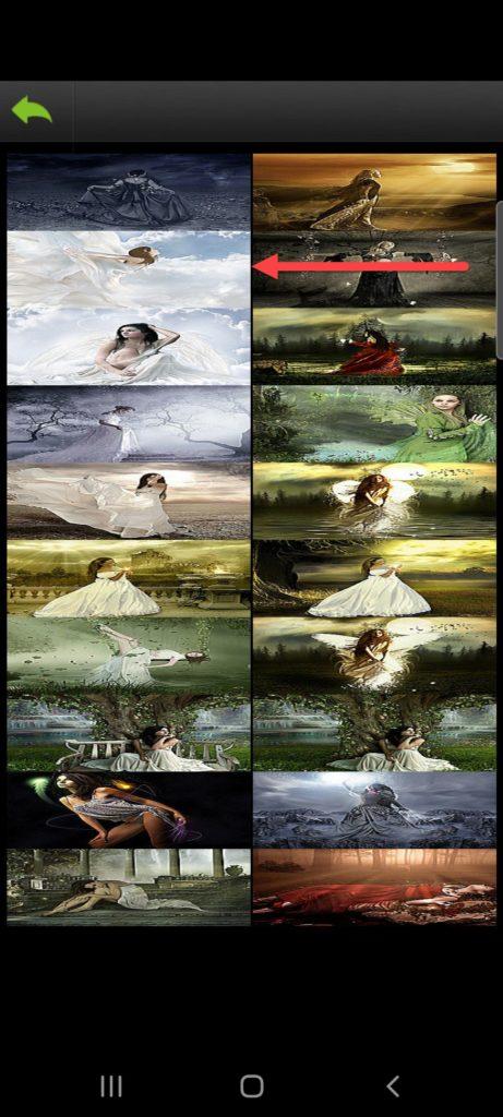 Bless Wallpapers HD выбор темы