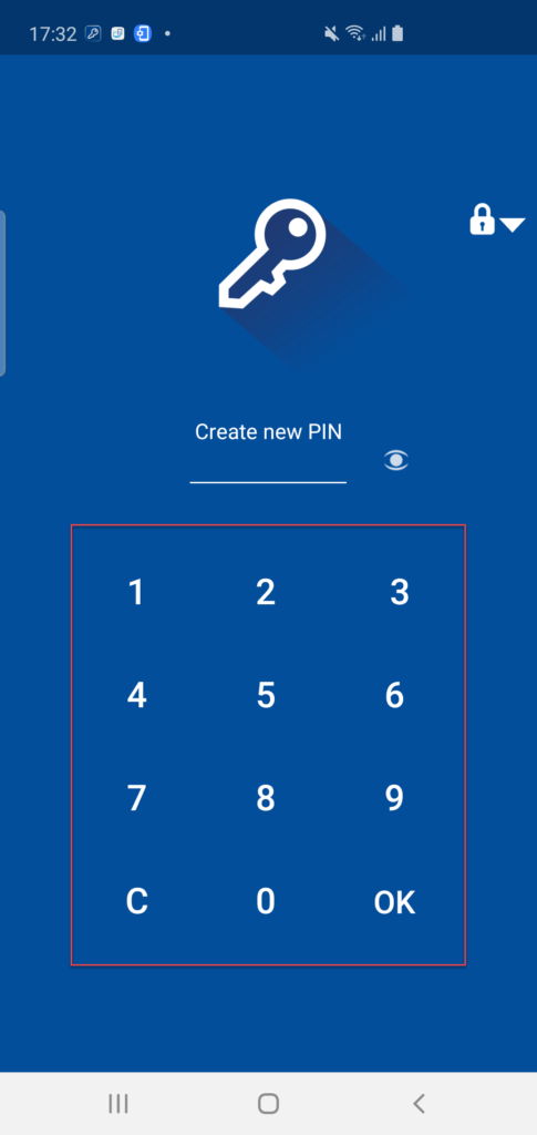 Folder Lock установка пин-кода