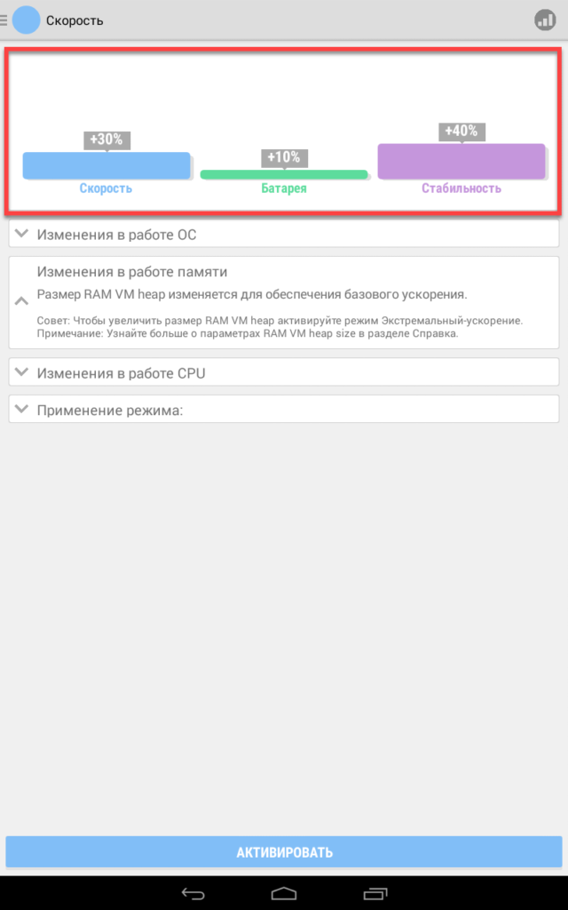 Root Booster запуск игр