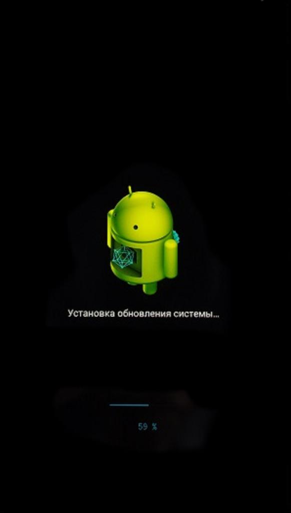 Обновление Android на телефоне