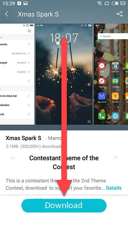 Meizu Android загрузка темы