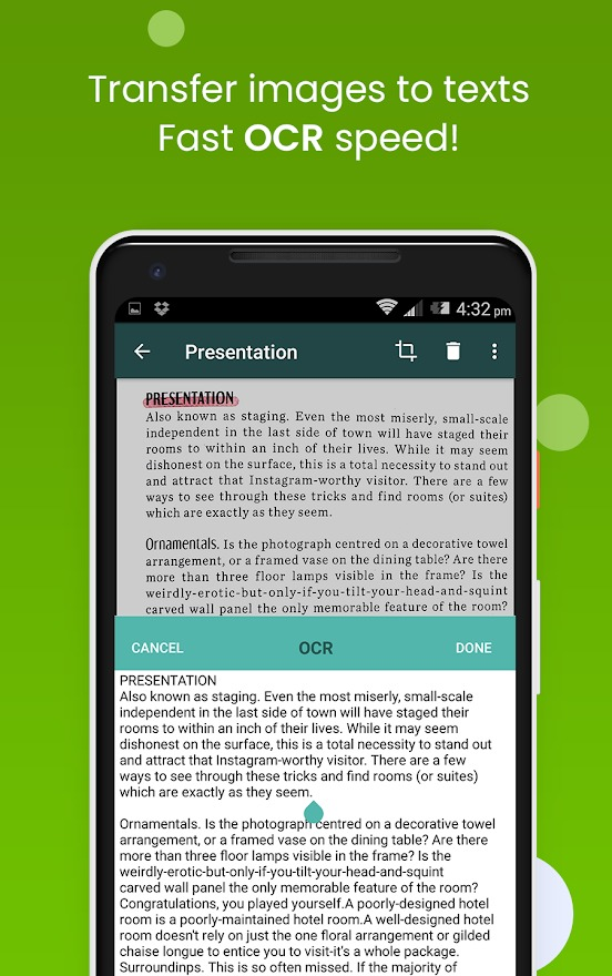 Clear Scanner Android