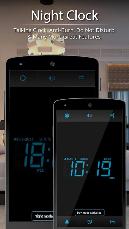Digital Alarm Clock Android