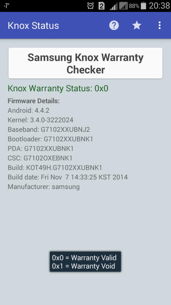 Root Checker Pro проверка рут прав Андроид KNOX статус