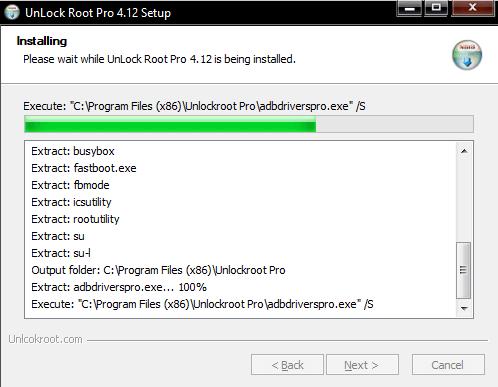 Unlock Root на PC инсталляция программы