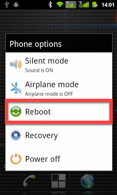 Clockworkmod Андроид перезагрузка