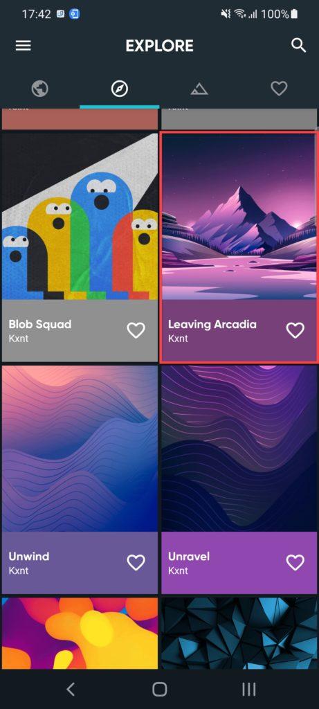 Backdrops – Wallpapers Андроид выбираем картинку