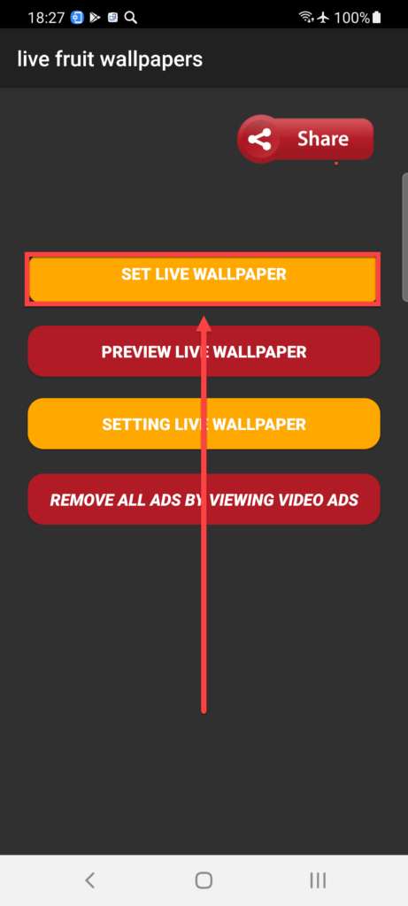 ApkOnline - нажимаем Set Live Wallpaper