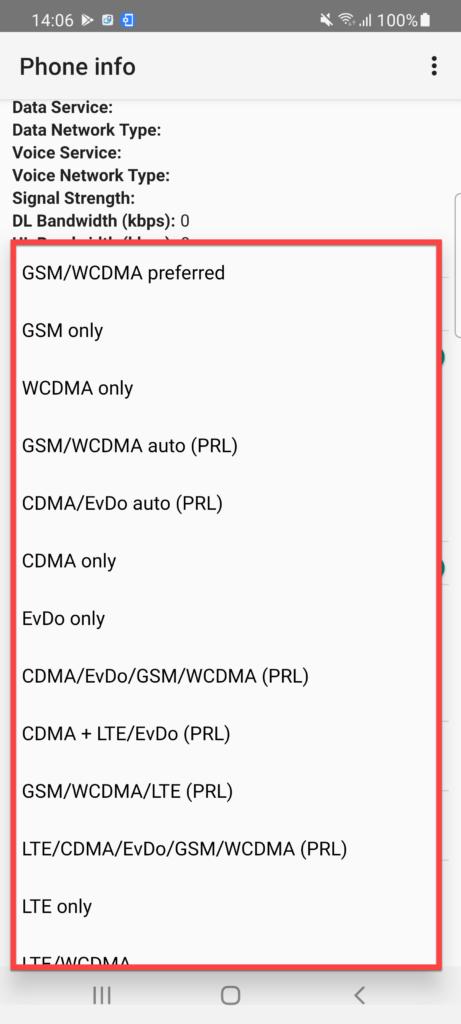 Force LTE Only для Андроид конфигурация