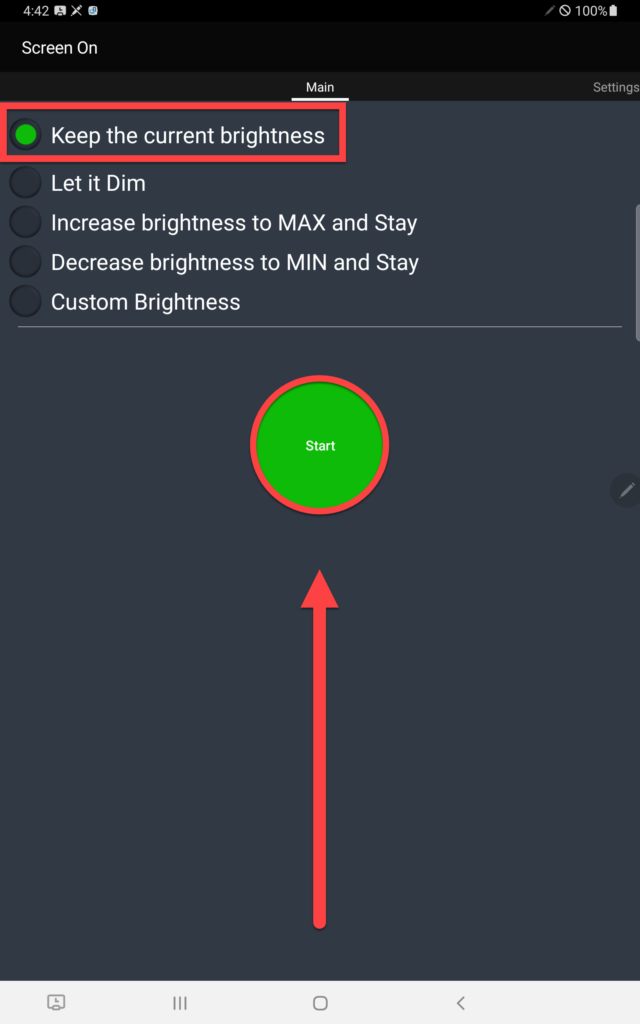 Приложение Screen ON настройка спящего режима
