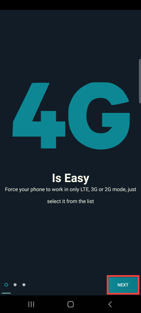 Force LTE Only для Андроид следующий шаг