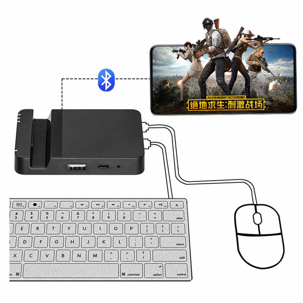 Как подключить мышь к Андроиду через док-станцию