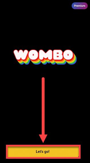 Приложение WOMBO Андроид стартовать