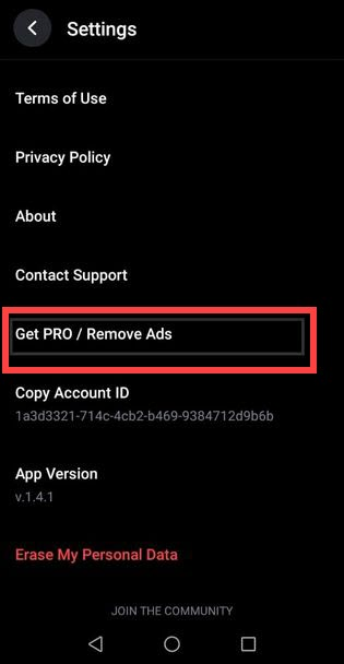 Приложение REFACE Андроид удалить рекламу